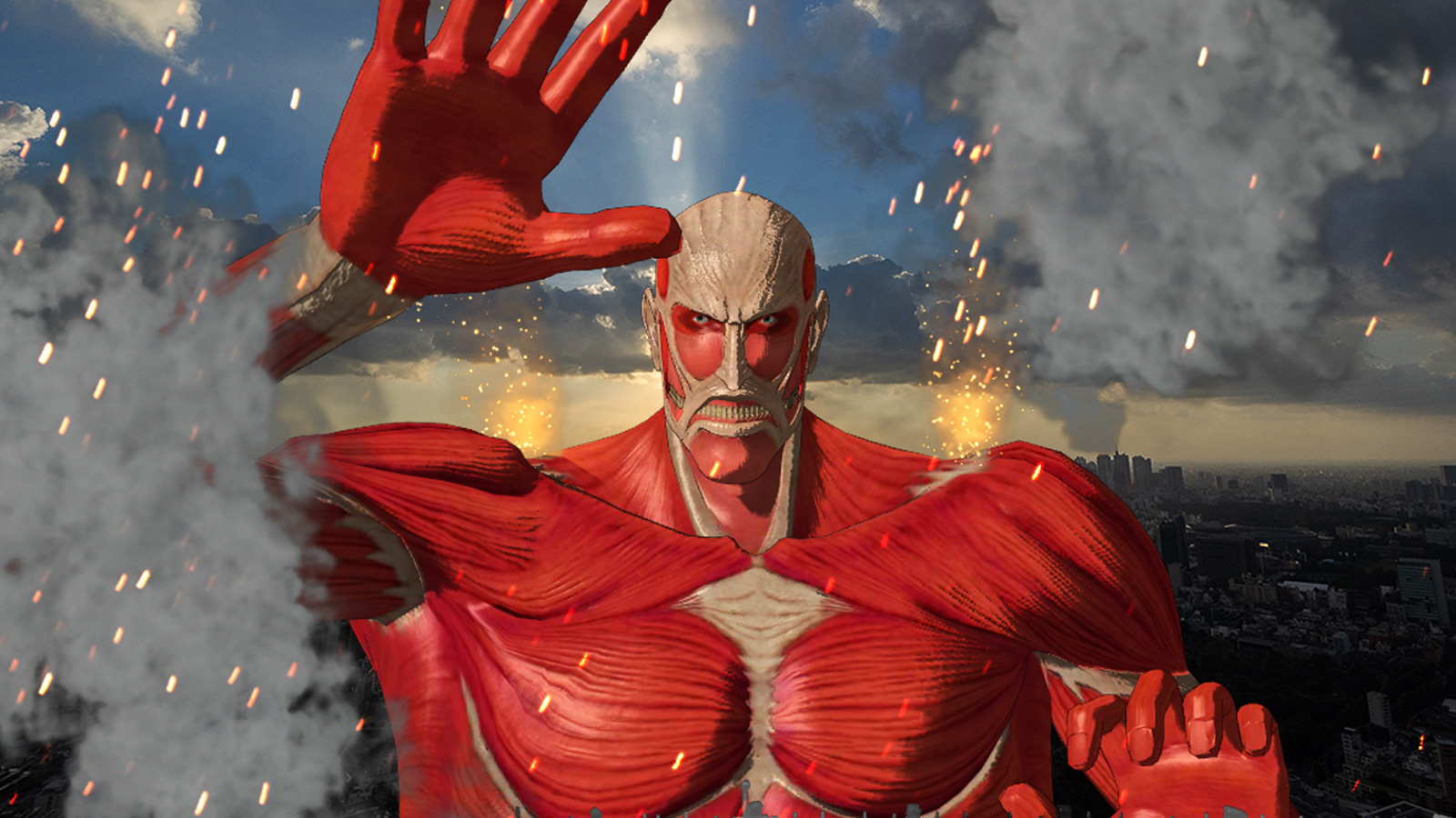 ATTACK ON TITAN FINAL EXHIBITION × SKY DECK-Appearance of The Colossal Titan