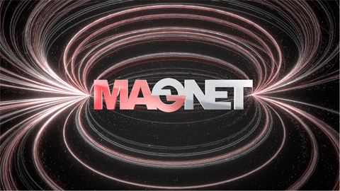 Motion logo for Magnet